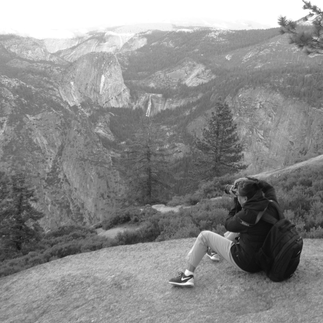 Yosemite, Barbara, Glacier Point